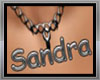 Necklace Sandra name