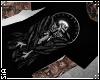 {S} BLACK SKULL CROW