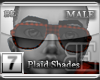 [BE] Red Plaid|Shades M
