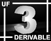 UF Derivable Digit 3