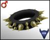 Spiky gold collar (m)