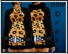BBW Gold Swearter Dress