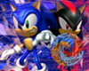 Sonic and Shadow sticker
