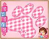 ! ✿ Paw Carpet Pink