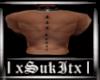 Onyx Unholy Back Rings