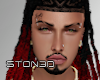Long Red Ombre Locs '20