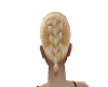 blond hair french braid