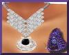 PBF*Elegant Diamond Neck