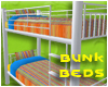 = Colourful Bunk Beds =