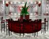 Dark Red Flower Bar KK