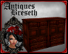 BS*AntiqueCherryCabinet