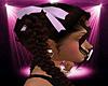 -S- Lilac Hair Ribbons