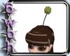 [6] Gold mog pompom