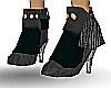 Black suade Boots