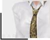 [bq]Jacquard tie/Gold