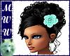 Rosie Black/ Mint Rose