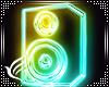 Neon Wall Speaker