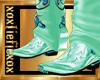 [L] Mint Cowboy Boots M