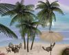 Spring Beach Palms