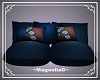 ~MG~ Pillow Loveseat