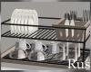 Rus Bakery Dish Rack