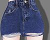 Ripped denim skirt 2