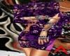 rouge3 purple black lace