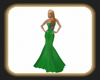 Green Pam gown