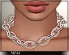 !M! Chain Necklace goldb