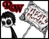 Meat Hex Sticker
