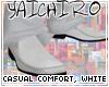 Casual Comfort, White