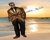 A/L    Mr Gold Man Suit