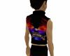 Harley Flame Vest