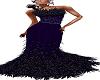 purplefeather gown