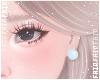 F. Pearl Earring Blue