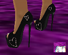 *Aki* Pink Heart Heels