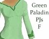 Paladin PJs Green F
