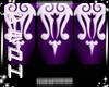 Dainty hands purple