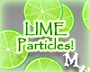 Lime Particles!