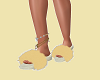 Cleopatra Furry slippers