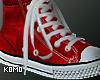 K! Red kicks