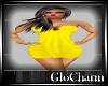 Glo* HalleDress~Yellow