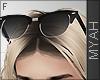 & Silver Glasses Head
