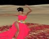 Vestido danza del vientr