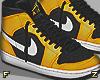 Yellow Air Jordan F
