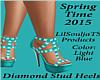 Diamond Stud Heels (LB)