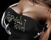 Black Shoulder Belt Side