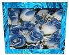Ice Blue Roses Picture