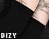 Layerable Black Socks RL