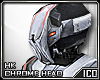 ICO HK Chrome Helm